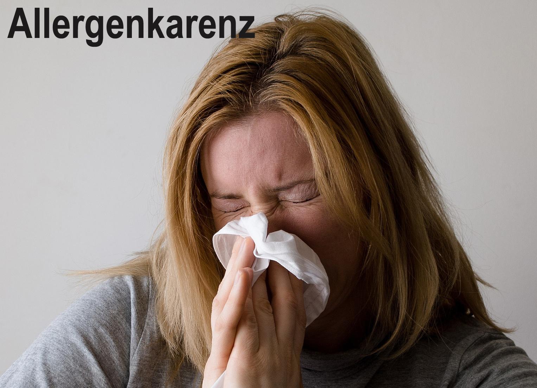 Allergenkarenz