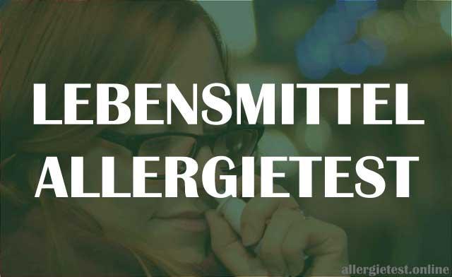 Allergie Selbsttest Nahrungsmittelallergie