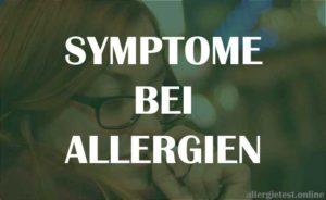 Symptome bei Allergien - Ratgeber