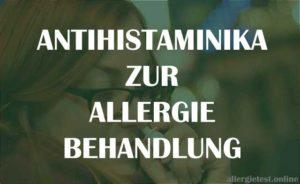 Antihistaminika Ratgeber