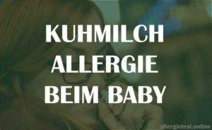 Kuhmilchallergie beim Baby - Ratgeber