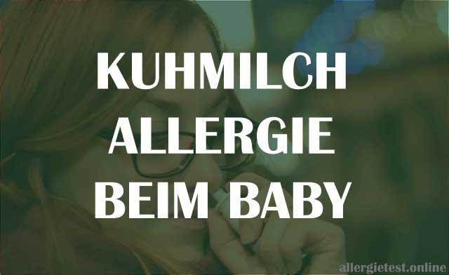 Kuhmilchallergie beim Baby